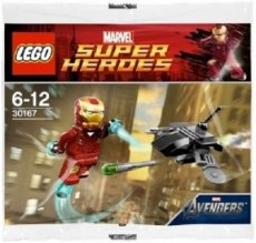 30167 LEGO® Marvel Super Heroes Iron Man™ vs Drone (Polybag)